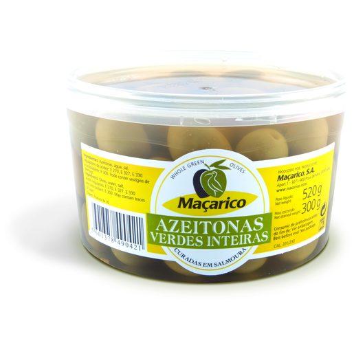 MAÇARICO Azeitonas Verdes com Caroço 300 g