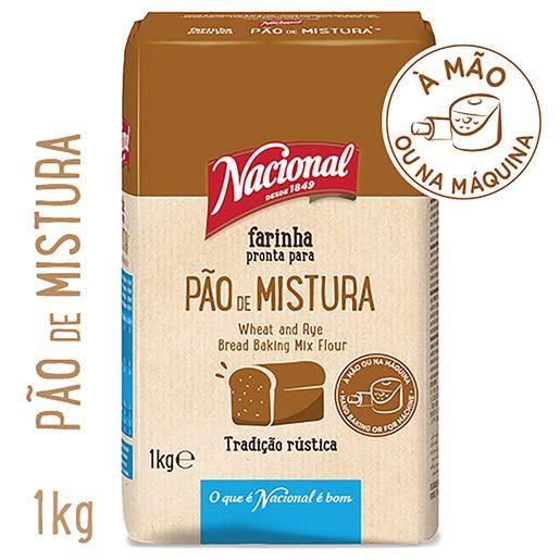 NACIONAL Farinha para Pão de mistura 1 kg