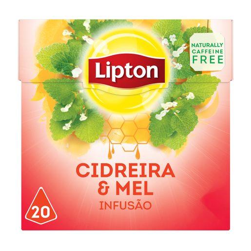 LIPTON Chá Infusão de Cidreira e Mel Pyramid  20 Un