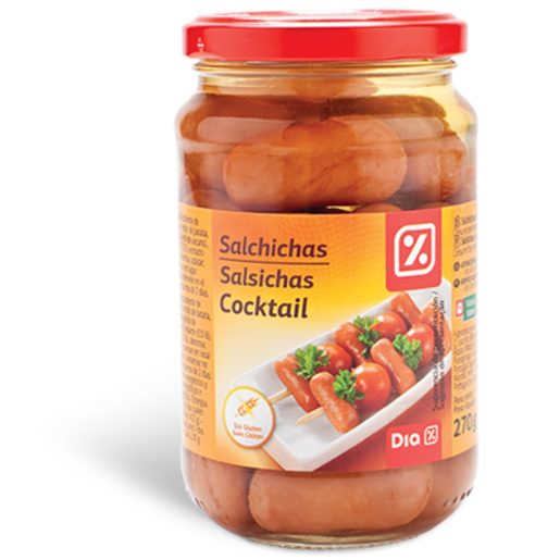 DIA Salsichas Cocktail 270 g