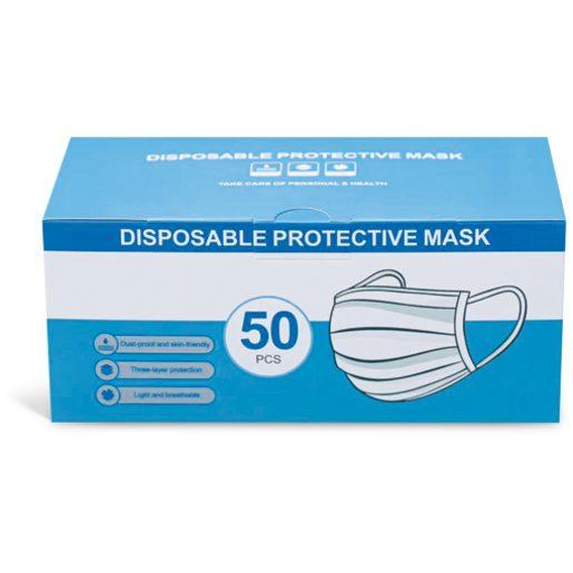 Máscaras Protetoras Descartáveis 50 Un