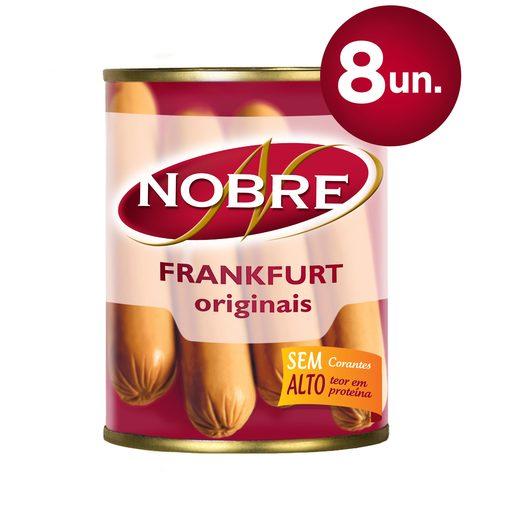 NOBRE Frankfurt Salsichas Lata 8 Un