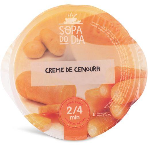 SOPA DO DIA Creme de Cenoura 400 g