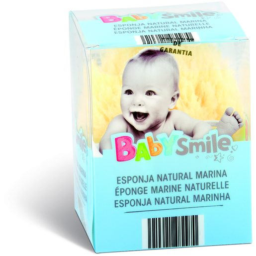 BABYSMILE Esponja Natural Bebé 1 Un