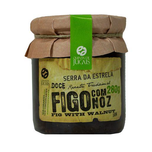 QUINTA DE JUGAIS Doce de Figo com Noz 280 g
