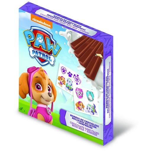 PATRULHA PATA Barrita de Chocolate de Leite 50 g