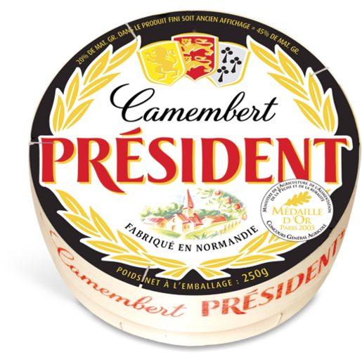 PRÉSIDENT Queijo Camembert 250 g