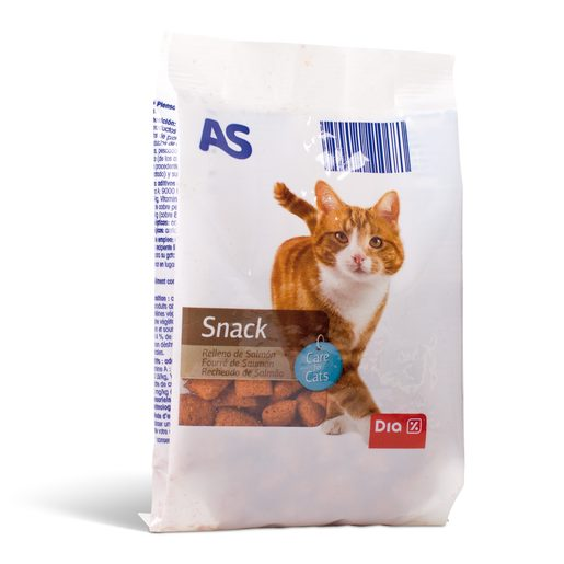 AS Snack de Salmão Para Gato 60 g