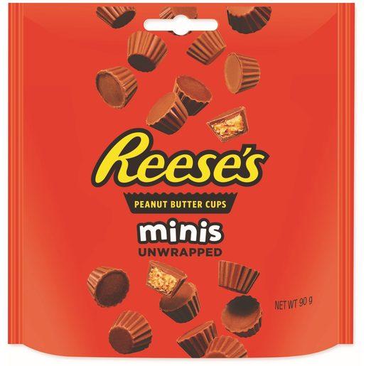 REESE'S Mini Chocolates Recheados com Manteiga de Amendoim 90 g