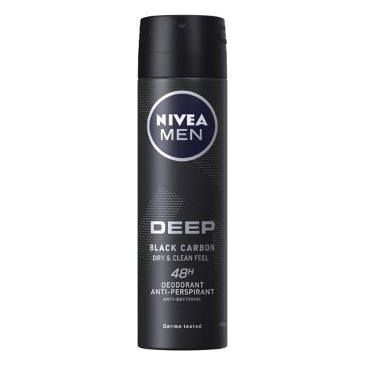 NIVEA MEN Desodorizante Spray Deep 150 ml