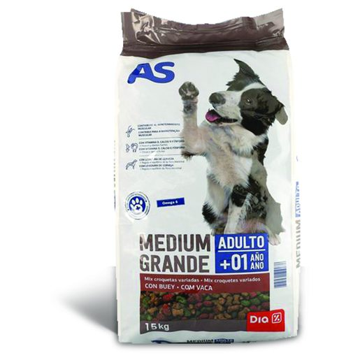 AS Alimento Para Cães Mix 15 kg