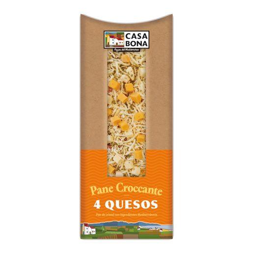 CASA BONA Pane Crocante 4 Queijos 250 g