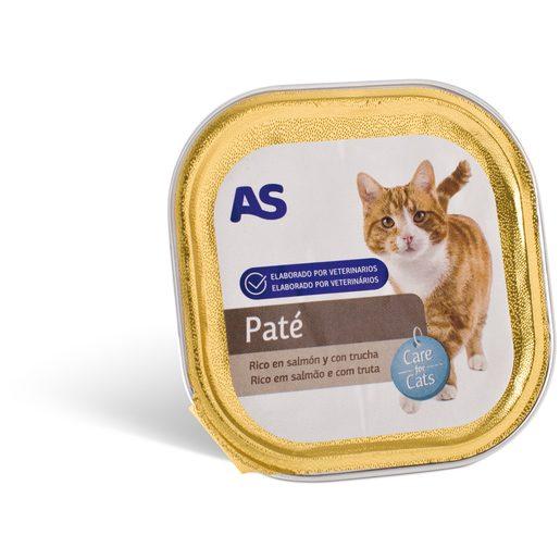 AS Paté Gato Salmão E Truta 100 g