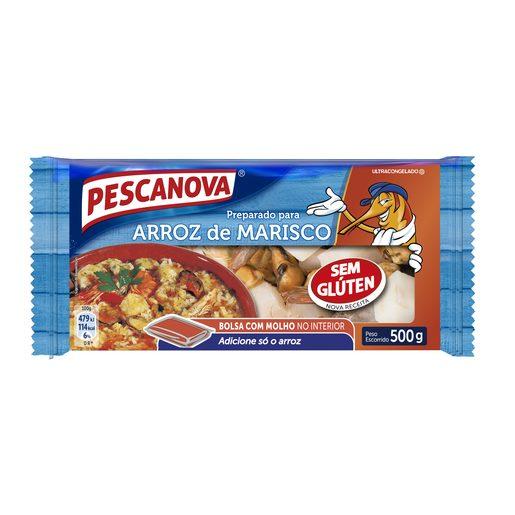 PESCANOVA Preparado de Arroz de Marisco 500 g
