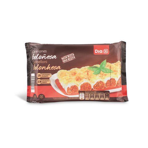 DIA Canelones de Bolonhesa 500 g
