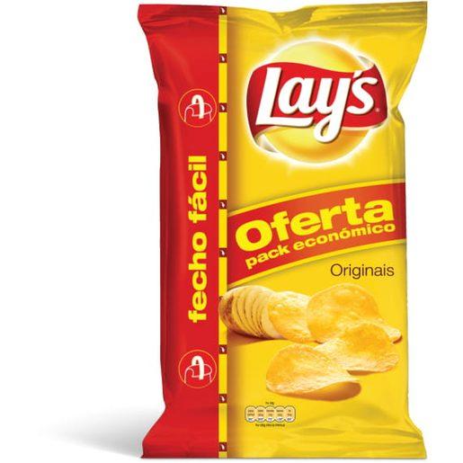 LAY'S Batata Frita Pacote Económico 282 g