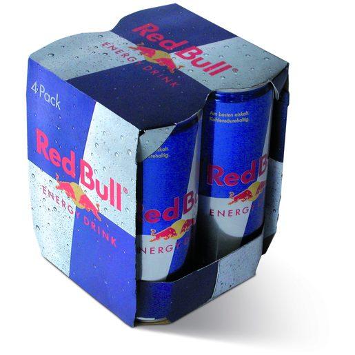 RED BULL Energy Drink 4x250 ml
