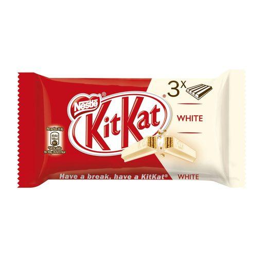 KITKAT Snack de Chocolate White 3x41,5 g