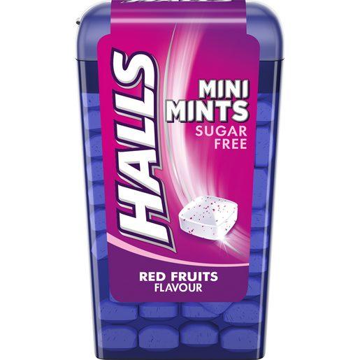 HALLS Rebuçados Mini Mints Frutos Silvestres 12,5 g