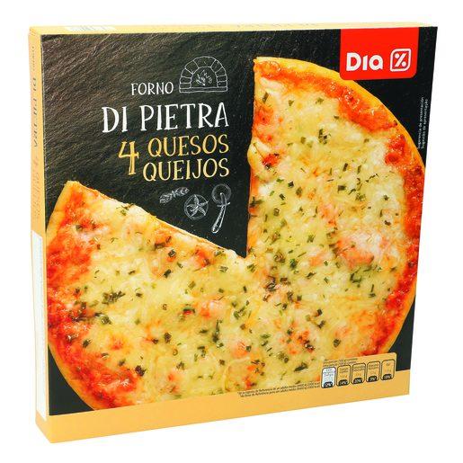 DIA Pizza Forno di Petra 4 Queijos 400 g
