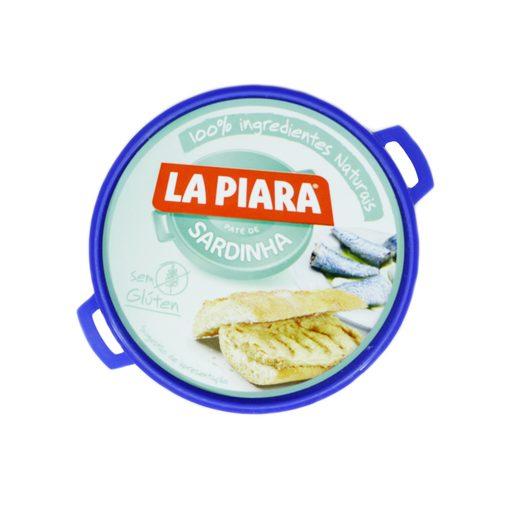 LA PIARA Paté de Sardinha Solo Natural 75 g