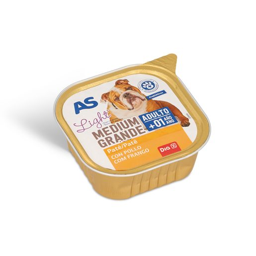AS Paté Cão Frango Light 300 g