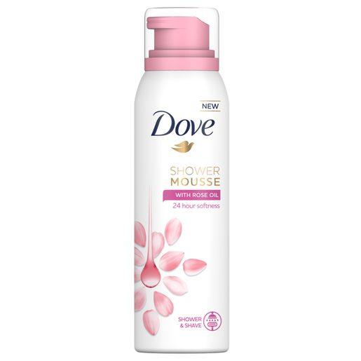 DOVE Mousse Banho Rose Oil 200 ml