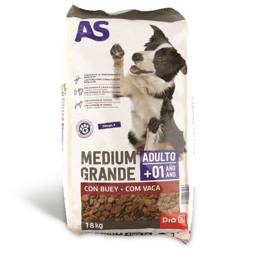 AS Alimentação Seca Para Cão Adulto 18 kg