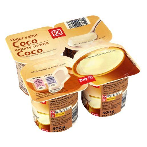 DIA Iogurte Aroma Coco 4x125 g