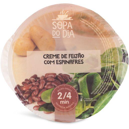 SOPA DO DIA Feijão e Espinafres 400 g