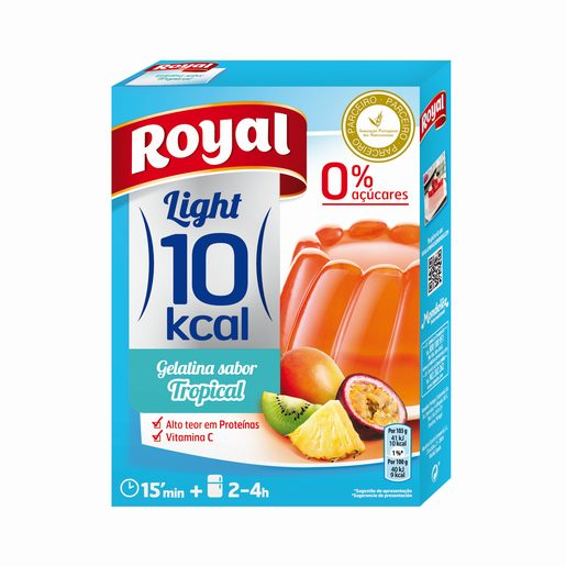 ROYAL Gelatina Tropical Light 10Kal 31 g