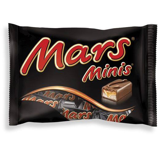 MARS Mini Snacks Chocolate e Caramelo 170 g
