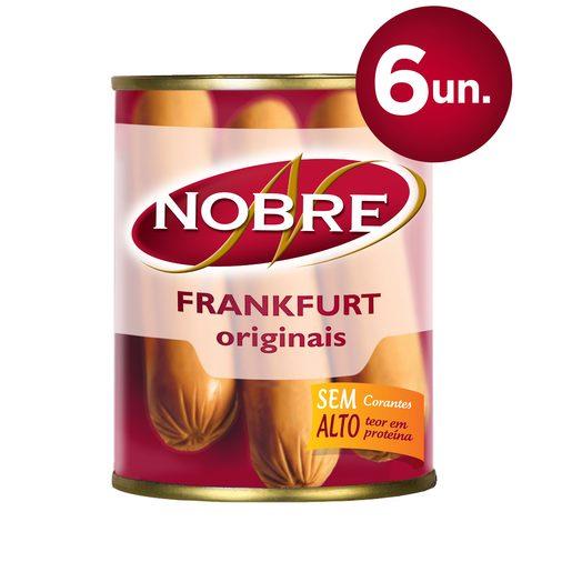 NOBRE Frankfurt Salsichas Lata 6 Un