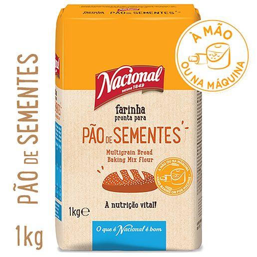 NACIONAL Farinha para Pão de sementes 1 kg