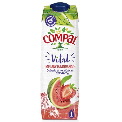 COMPAL Néctar Vital de Melancia E Morango 1 L