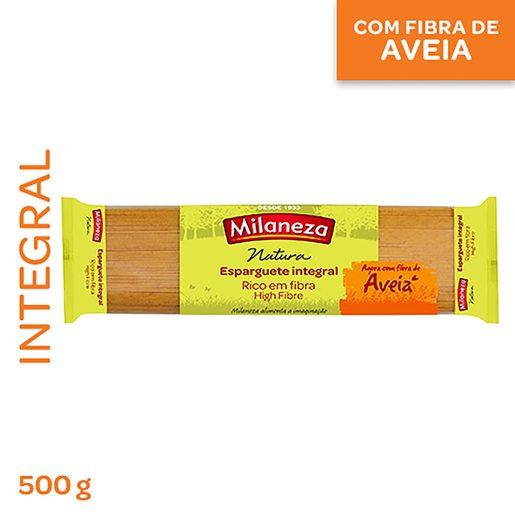 MILANEZA Esparguete Integral com aveia 500 g
