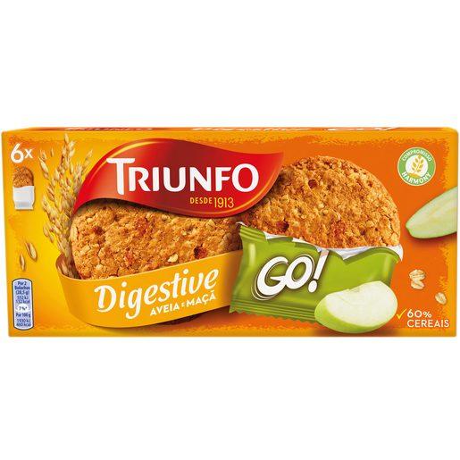 TRIUNFO GO Bolachas Digestivas de Maçã 171 g