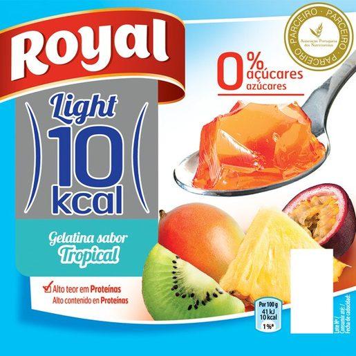 ROYAL Gelatina Tropical 10kcal 4x100 g