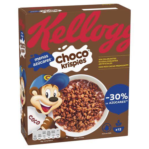 CHOCO KRISPIES Cereais de Chocolate Kellogg´s 375 g