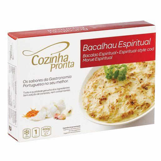 COZINHA PRONTA Bacalhau Espiritual 400 g