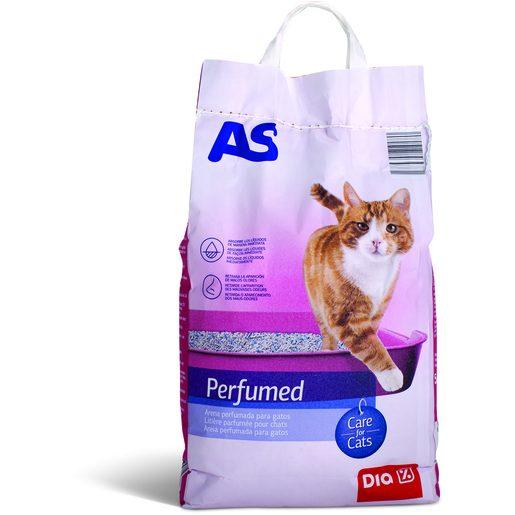 AS Areia Perfumada Para Gatos 5 kg