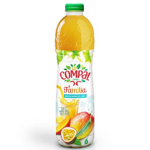 COMPAL Néctar Família Manga /Maracujá / Limão 1,5 L