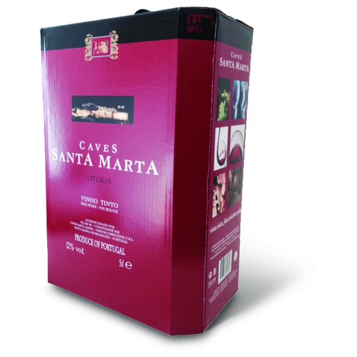 CAVES SANTA MARTA Vinho Tinto Bag In Box 5 L