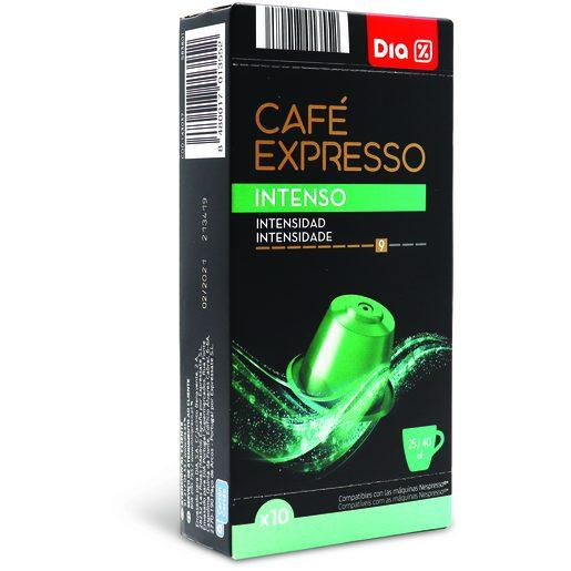 DIA Cápsulas de Café Intenso I9 10 Un