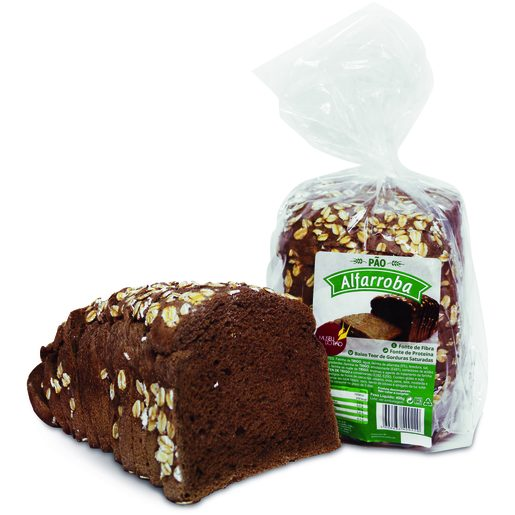 MUSEU do PÃO - Pão de Forma de Alfarroba 400 g
