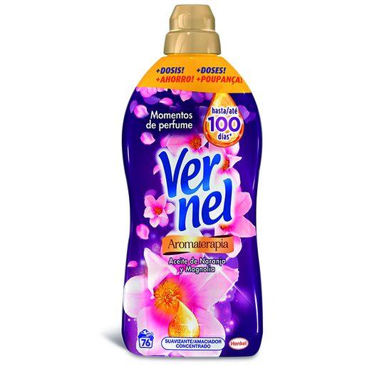 VERNEL Amaciador Roupa Aromaterapia Violeta 76 Lv
