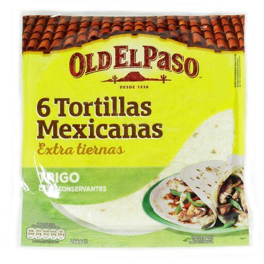 OLD EL PASO Tortilhas Mexicanas 244 g