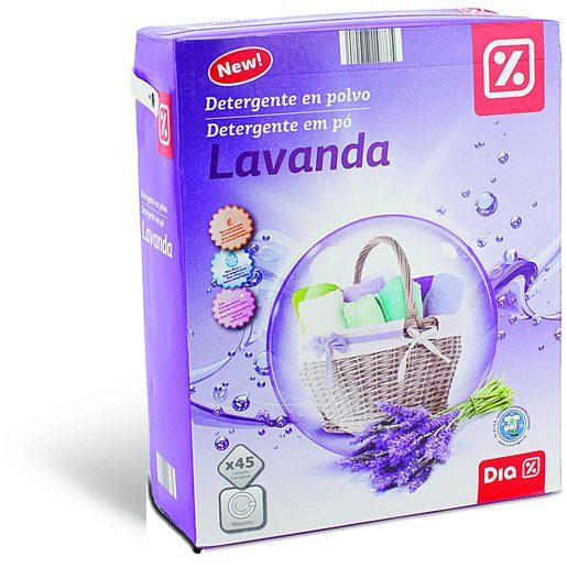 DIA Detergente Em Pó Para Máquina da Roupa Lavanda 45 Lv