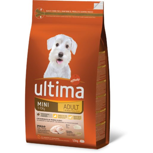 ULTIMA Alimento Seco Cão Mini Adulto 1,5 kg