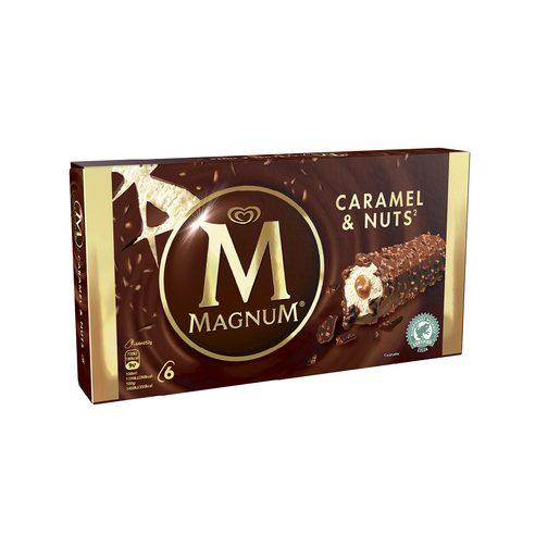 MAGNUM Gelado Caramel & Nuts 6x64 ml